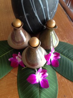 Luxury Massage oils at Prince Samui men Spa