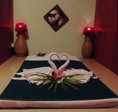 Thai Massage Room for relaxing therapy at Prince Samui men Spa